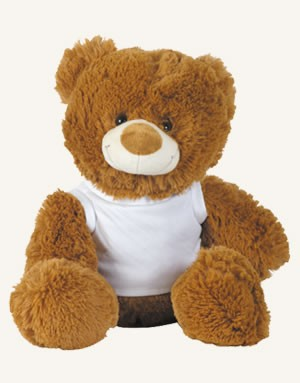 Coco (Brown) & Coconut (White) Plush Teddy Bear