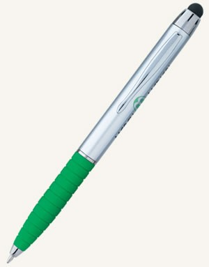 Silver Cool Grip Stylus Pen